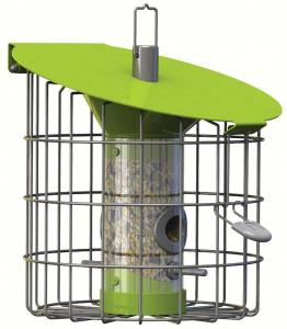 Squirrel Proof Bird Feeders by The Nuttery