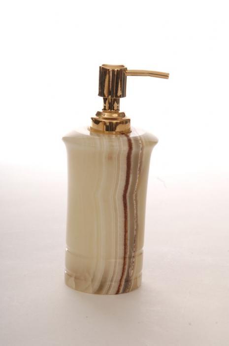Imperial Bath Chartreuse Onyx Bath Lotion Dispenser