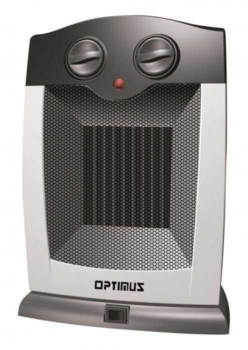 Optimus H7248 Portable Oscillating Ceramic Heater With