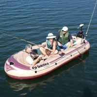Solstice Voyager Inflatable 6 Person Boat