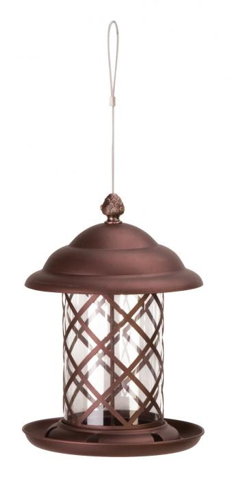Panacea Acorn Top Bird Feeder, Copper