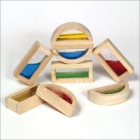 Guidecraft Rainbow Blocks-water