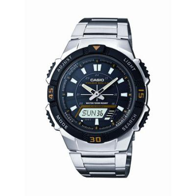 Casio Ana/Digi Solar Powered Watch Stainless Steel Band