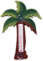 Songbird Essentials Palm Tree Small Window Thermometer