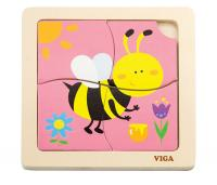 The Original Toy Company 1st Puzzles, Bee