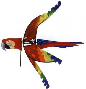 Premier Designs Scarlet Macaw Spinner