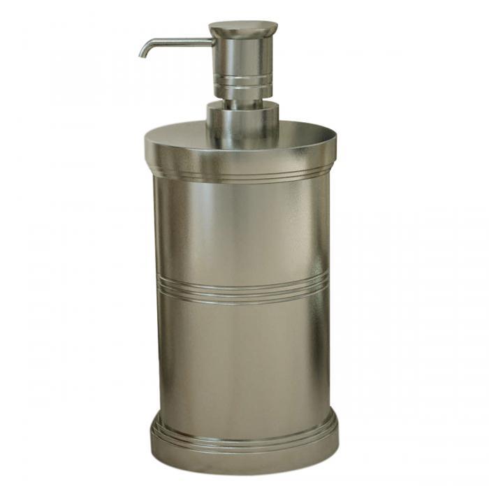 Nu Steel Dual Ridge Soap/Lotion Pump, Brushed Nickle