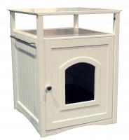 Merry Product White Color Cat/Dog Washroom/House