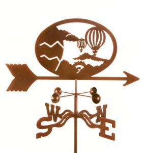 EZ Vane Hot Air Balloons Weathervane
