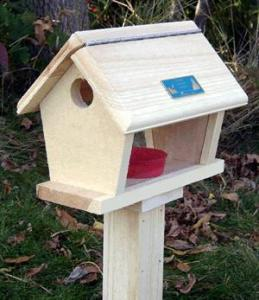 Coveside Conservation Products Small Bluebird Feeder