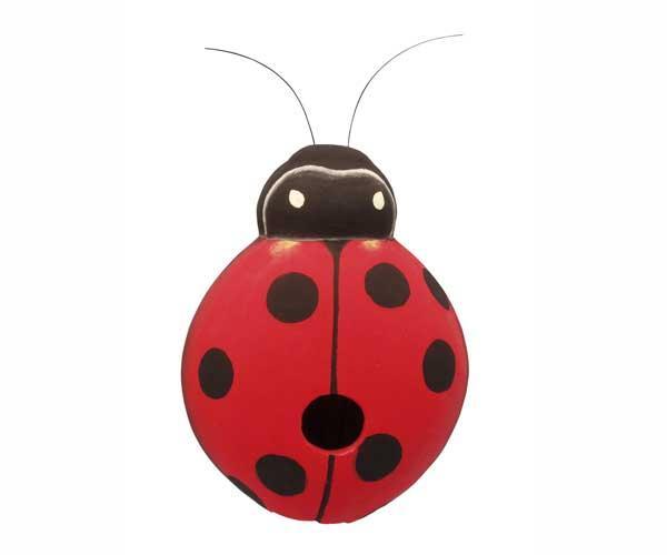 Bobbo Ladybug Birdhouse