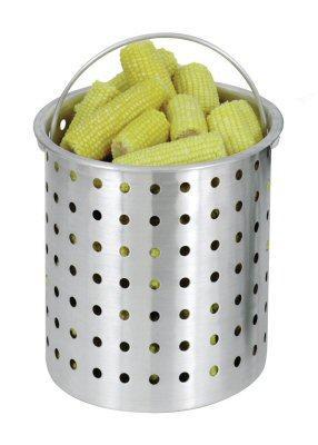 Bayou Classic 30 Quart Perforated Aluminum Basket