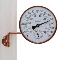 Conant Custom Brass Vermont Weather Station Living Finish Copper
