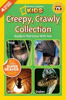 Random House Nat Geo Readers Creepy, Crawly, Collection