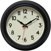 Infinity Cuccina Black Wall Clock
