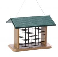 Bird's Choice Recycled Seed & Suet Block Feeder