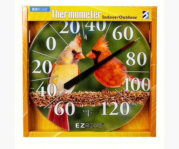 Cardinals Thermometer 12.5 inch