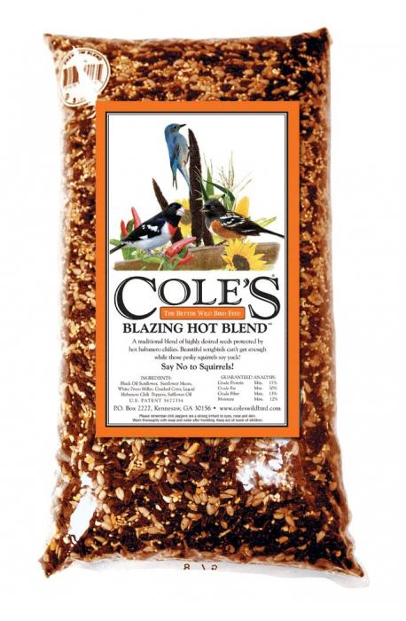 Cole's Wild Bird Products Blazing Hot Blend 20 lbs.