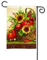 Magnet Works Fall Basket Garden Flag