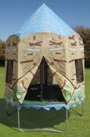 Bazoongi Kids Treehouse Trampoline Tent