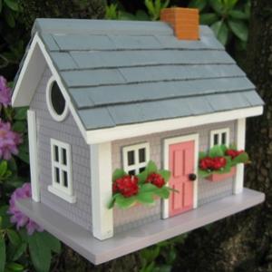 Home Bazaar Vineyard Cottage - Grey