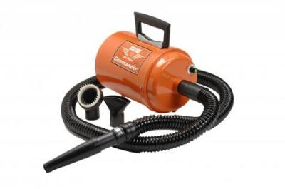 Metro Vac Airforce Commander with Variable Speed Dryer- 4 HP (Orange)