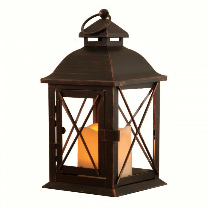 Smart Solar Aversa LED Candle Lantern