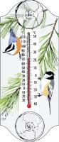 Aspects Chickadee Nuthatch Window Thermometer