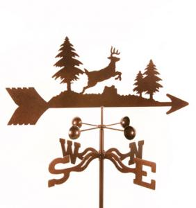 EZ Vane Deer Jumping Weathervane