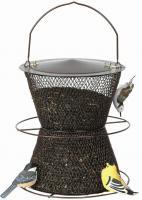 No-No Bronze Hourglass Birdfeeder