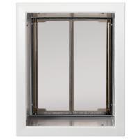 PlexiDor Large Exterior Wall Unit Performance Pet Door, White
