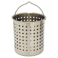 Bayou Classic 102-Quart Stainless Perforated Basket