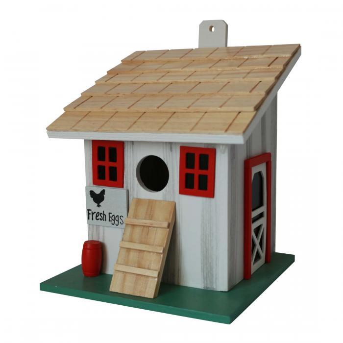 Home Bazaar Chicken Coop Birdhouse - Small