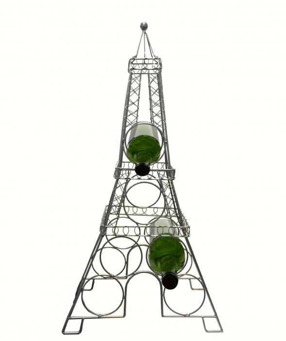 Three Star Eiffel Tower Wine Bottle Holder