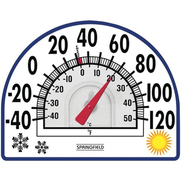 Springfield 91157 Four Season Window Cling Thermometer