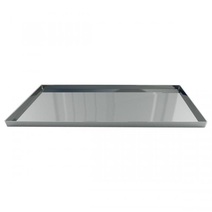 Nu Steel Gloss Amenity Tray, Mirror Finish