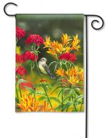 Magnet Works Summer Flowers Garden Flag