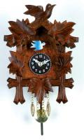 River City 5 Leaves and 1 Bird  Clock with Side-to-Side Pendulum