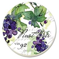 Counter Art Vin 27 Coasters Set of 4