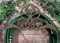 Victorian Hose Holder - French Bronze