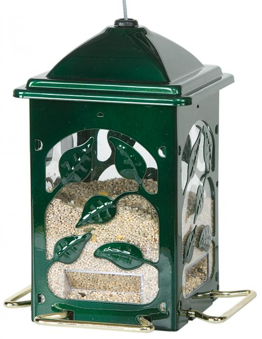 Homestead Summer's Leaves Mixed Seed Bird Feeder
