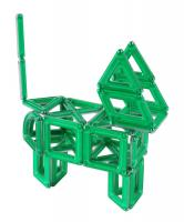 PowerClix  3D Building System from Guidecraft, 40 Piece Green