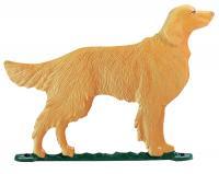 """30"""" Golden Retriever Weathervane - Rooftop Color"""
