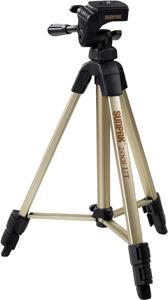 Sunpak 620-020 Tripods With 3-way Panhead (folded Height: 18.5; Extended Height: 49; Weight: 2.3 Lbs)