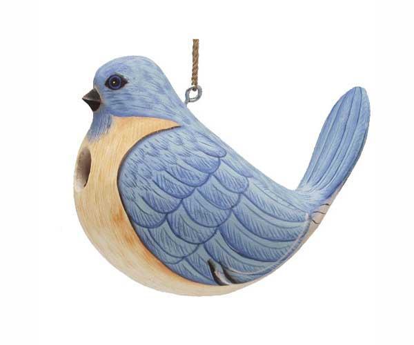 Bobbo Birdhouse Fat Bluebird
