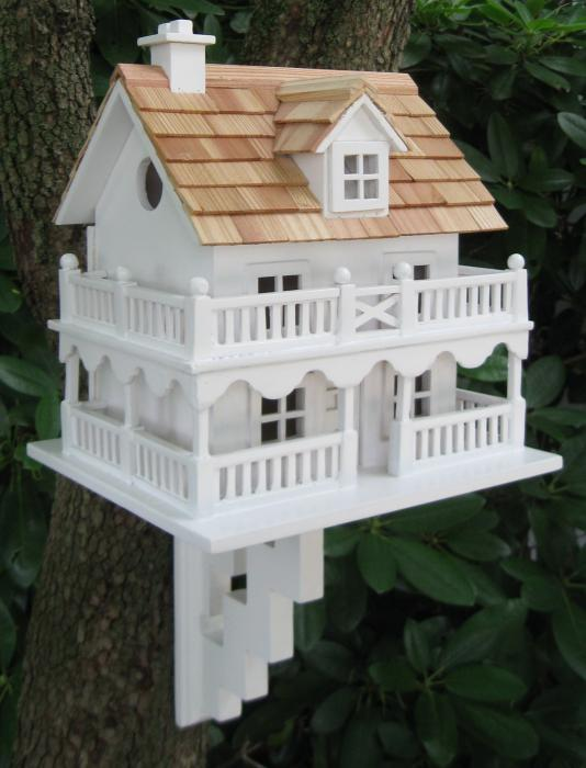 Home Bazaar Novelty Cottage Birdhouse With Bracket