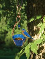 Songbird Essentials Copper Bluebird Mealworm Bird Feeder