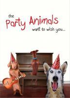 Tree Free Greetings Party Animals Birthday