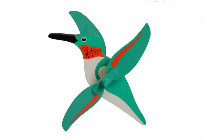 Flying Colors Hummingbird WhirlyGig