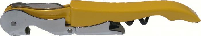 Wine Gift Essentials Yellow Customization Corkscrew